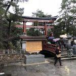 気比神宮の綺麗になった大鳥居(敦賀市)
